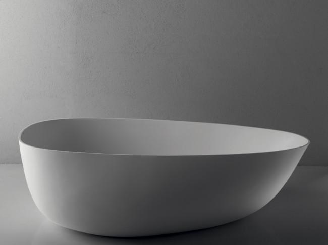 Vasche da bagno brera oggetti di design in solid - Vasche da bagno in ceramica ...