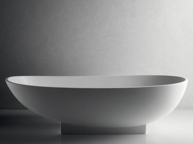 Vasca da bagno da appoggio MELT LIGHT V SMALL BRERA